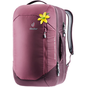 Deuter Aviant Carry On 28 SL Matkarinkka Naiset, maron/aubergine